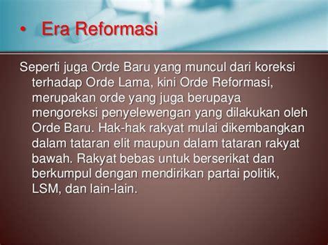 Sejarah Indonesia Dari Proklamasi Sai Orde Reformasi pancasila dalam kajian sejarah bangsa indonesia