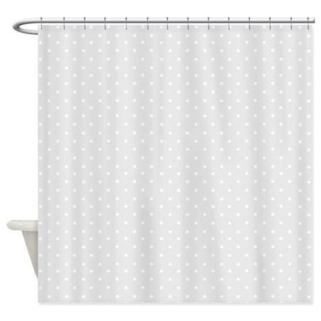 Small Shower Curtains by Small Gray Polka Dots Shower Curtain By Inspirationzstore