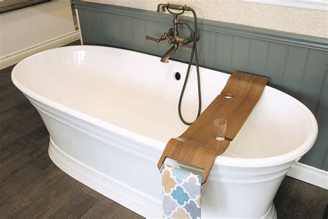 freestanding tubs bigger showers are changing bathroom