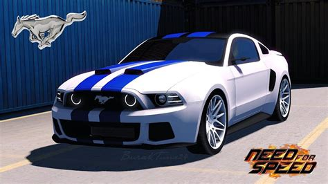 mustang in need for speed need for speed ford mustang 1 30 car mod ets2 mod