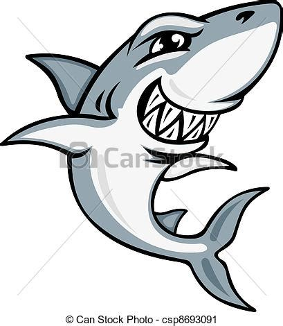 can stock photo clipart requin dessin anim 233 mascotte requin embl 232 me