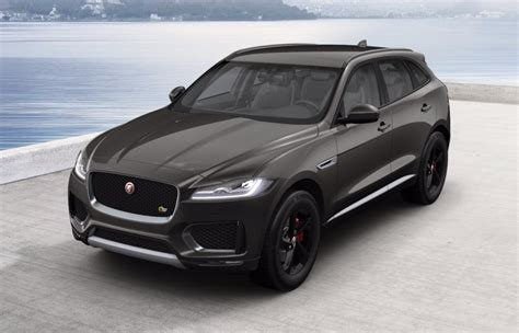 jaguar f pace grey jaguar f pace 2017 couleurs colors