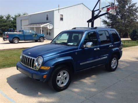 2006 Jeep Liberty Diesel Fuel Economy Find Used 2006 Jeep Liberty Crd 2 8l Diesel In Vincennes