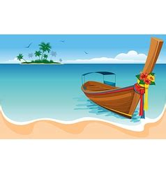 longtail boat icon transportation vector images over 200 000