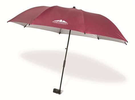 clip on table umbrella northwest territory nwt clip on chair umbrella