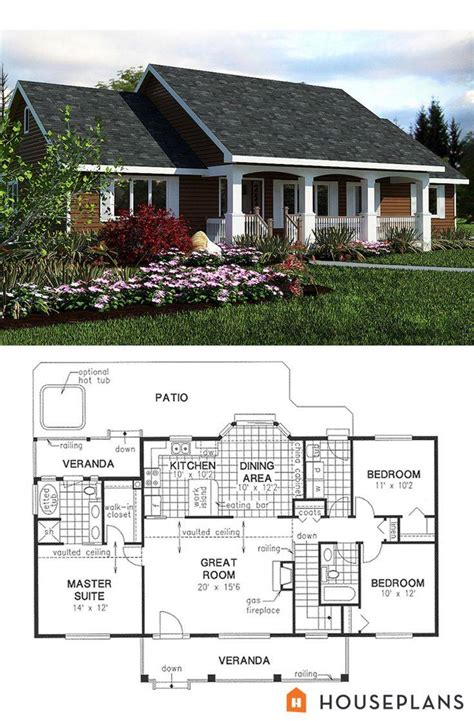 hillside home plans awesome 124 best house plans i