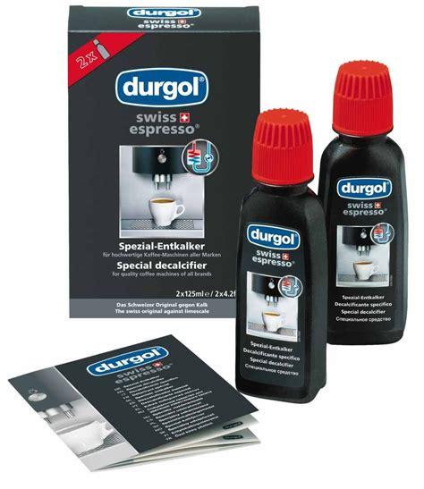 durgol swiss espresso special 1 liter durgol 40 x 125 ml swiss espresso entkalker