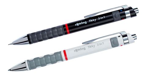 Rotring Isograph Set 0 1 0 3 0 5mm rotring tikky 3 in 1 multipen ballpoint pen and mechanical pencil 0 5 mm black