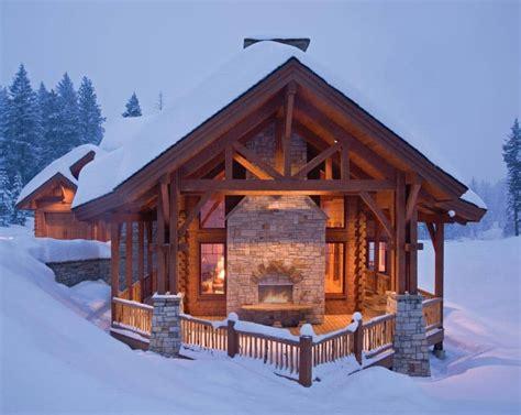 tamarack idaho log home precisioncraft log  timber homes