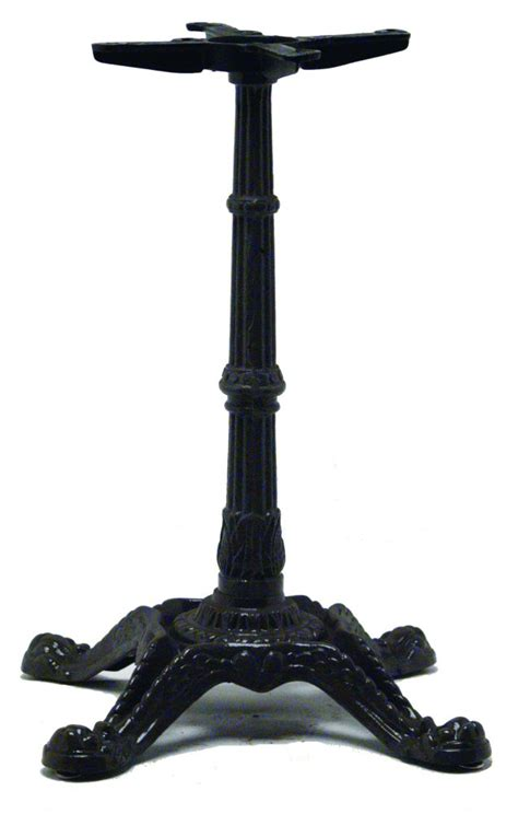 cast iron ornamental table base