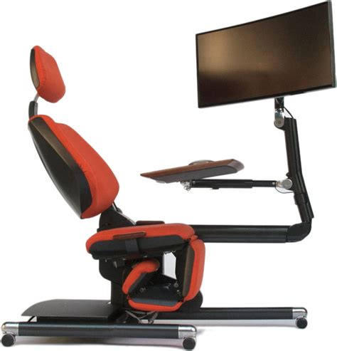 all in one desk and chair the altwork station the way to work