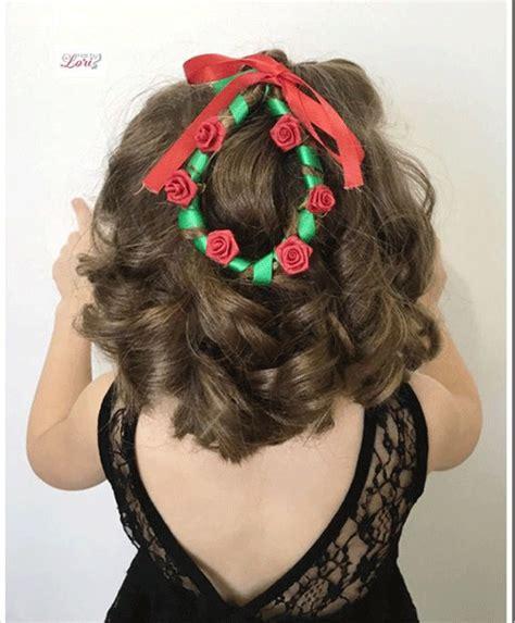 christmas themed hair 15 simple christmas themed hairstyle ideas for short