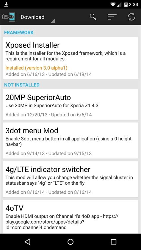 install xposed framework on android kitkat lollipop marshmallow how to install the xposed framework on android lollipop
