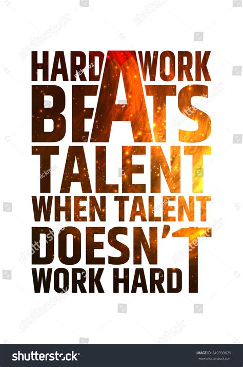 layout that doesn t work html hard work beats talent when talent stock vector 249399625