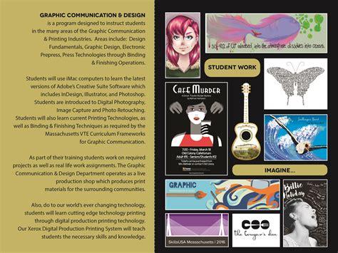 visual communication design programs graphic communication design old colony regional