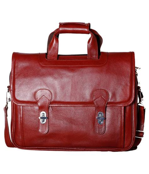 Rle Instan rle brown laptop bag buy rle brown laptop bag at low price snapdeal