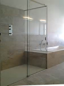 duschen glas fishzero begehbare dusche aus glas verschiedene