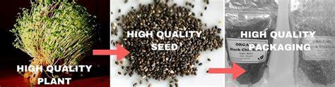 Organic Black Chia Seed 500 Gram jual chia seed organik promo terbatas 2018