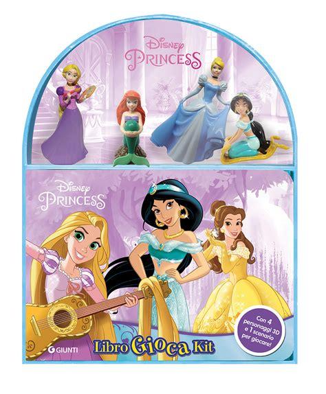 libro princess libro disney princess libro gioca kit con gadget di