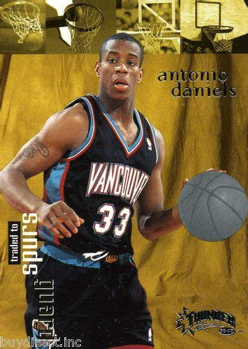 anthony daniels spurs rare 98 99 skybox thunder traded to spurs antonio daniels