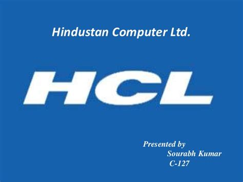hcl logo usage guidelines hcl technologies hcl company ppt