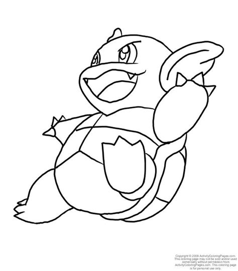pokemon coloring pages of blastoise pokemon blastoise coloring pages images pokemon images