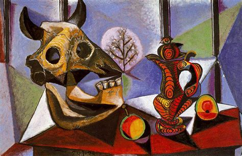 biography of artist picasso pablo picasso quot still life with bull s skull quot 1939 spain