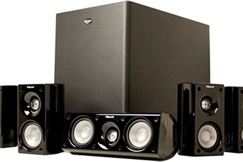 klipsch hd theater systems uncrate