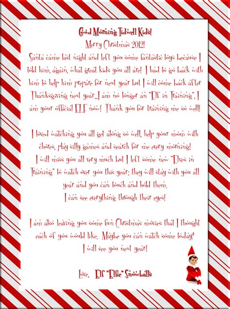 elf on the shelf letters letters and other great ideas printable elf certificate