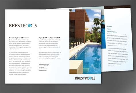 custom brochure templates custom brochure templates 5 best agenda templates