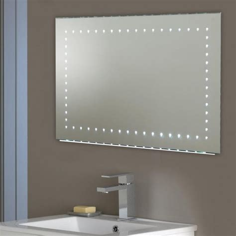 electric bathroom mirror endon lighting kalamos led illuminated bathroom wall