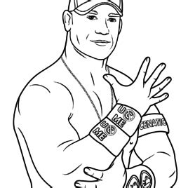 Cena Coloring Pages Printable Wwe John Cena Coloring Pages Coloring Pages by Cena Coloring Pages Printable