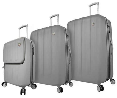 Mexza Set toro mezza tasca 3 luggage set hardside luggage