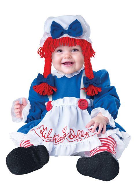 rag doll baby infant li l rag doll costume