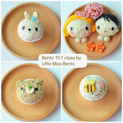 Miss Bento by Bento 101 Class Miss Bento