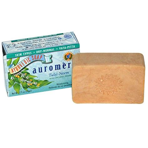Handmade Herbal Soaps - tulsi bar soap with organic neem handmade herbal soap