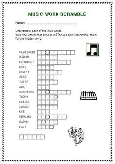 printable music word games 1000 images about learning italiano on pinterest
