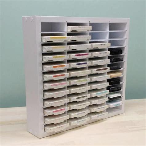 Desk Organizer Collections Stampin Up Ink Storage Organizemore