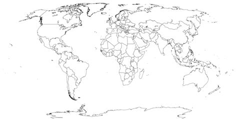 blank world maps map pictures