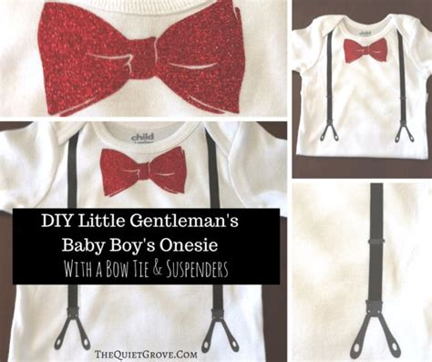 diy baby onesie with a bow tie card template diy baby onesies with free svg cut files boys babies