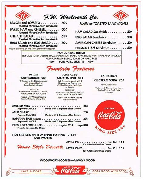 diner menu template 58 best 50 s images on fifties diner and
