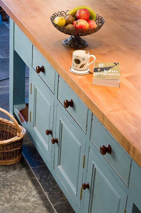 Kitchen Work Island wychwwod furniture 1