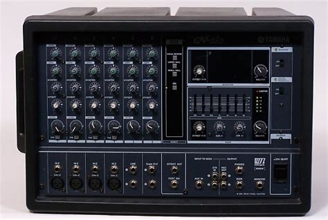 Power Mixer Yamaha 6 Chanel yamaha powered mixer emx 62m 6 channel mixer w reverb and reverb