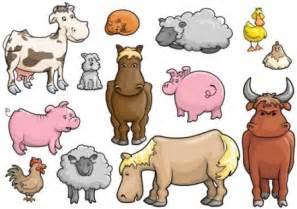 domestic animals engleza la grădi