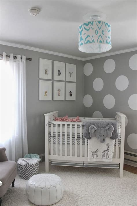 gender neutral elephant nursery maybe with a bit of teal or yellow that could go both ways i