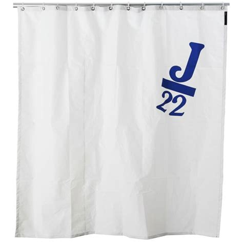Real boat sail shower curtains the green head