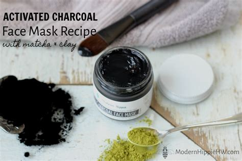 diy activated charcoal mask activated charcoal mask recipe with matcha and clay
