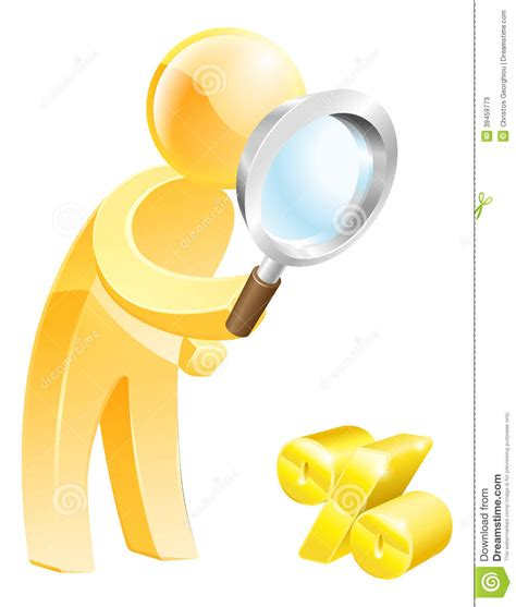 Rate Search Low Percentage Rate Search Stock Vector Image 39459773