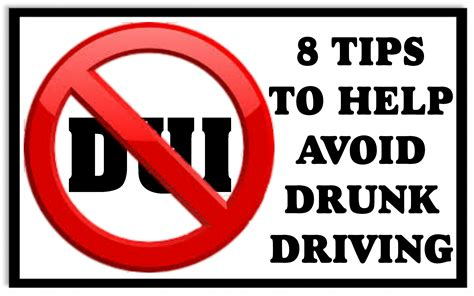 8 Tips On How To 8 Tips To Help Avoid Driving