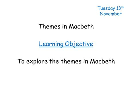 macbeth political themes macbeth theme of power modelled response by natwest87
